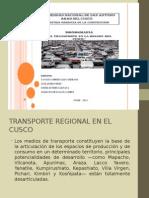 Presentación Transporte Regional