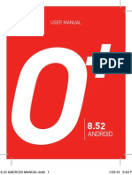 O+ user manual for 8.52 Android