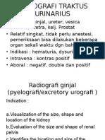 Radiografi traktus urinarius