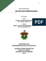 Buku Ajar Metode Analisis Perencanaan 2014