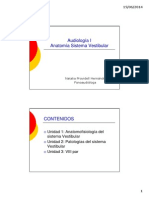 Anatomía Sistema Vestibular I