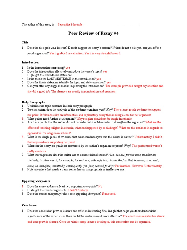 what is an opposing viewpoint in an essay
