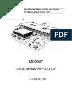 BASIC HUMAN PHYSIOLOGY