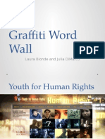 graffiti word wall