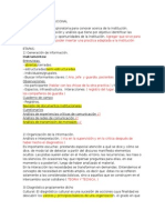 Diagnóstico Institucional Revision