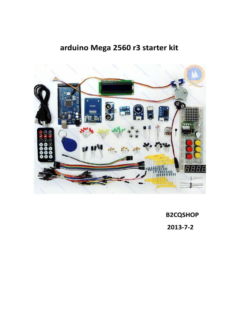 Arduino Mega 2560 R3 Starter Kit Q001151124 Electrical Pcb Driving 10x10 Led Matrix With Avr Engineering Resistance And Conductance