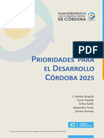 Prioridades Desarrollo Cba2025