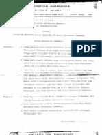 SK Rektor UI_pencabutan Status Mahasiswa_1981