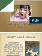 evidence governance inquiry presentation
