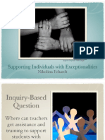 evidence ib students with exceptionalities
