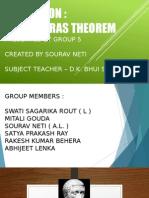Pythagoras Theorem f