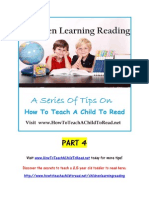 How to Teach a Child to Read - Children Learning Reading Part 4