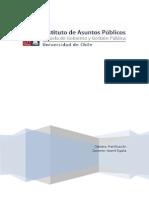 Análisis planificación estrategica SERNAM