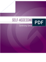 continuing competency self assessment 2008