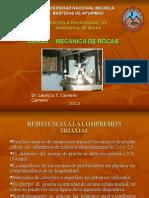 Mecánica de Rocas 7, TRIAXIAL