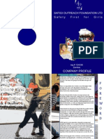 Company Profile SAFIGI Outreach Foundation LTD