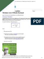 Determinación de Caudales Máximos Con El Método Racional _ Tutoriales Al Día - Ingeniería Civil