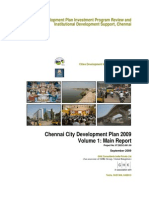 Chennai City Development Plan 2009