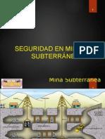 010 MINERÍA SUBTERRÁNEA