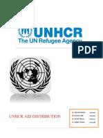UNHCR Project Report