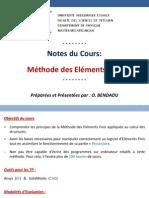Cours Méthode des Éléments Finis (MEF)