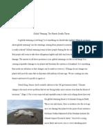 erica cline global warming report final