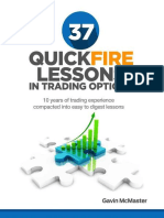 37 Quickfire Lesson in Trading Options 10 Years of - McMaster 2014