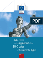 2011 Report of the Application of EU Charter to Fundamental Rights