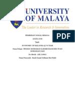 Malaysia Economic in 50 Year