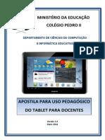 """CPII - Apostila para uso dos """"Tablets"""""""