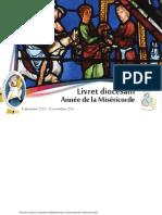 Livret diocésain pour l'année de la Miséricorde