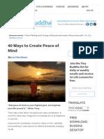 40 Ways to Create Peace of Mind.pdf