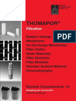 Thomapor Filtration (english)