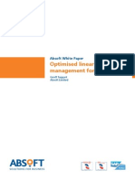 Optimised Linear Asset Management for Oil Gas