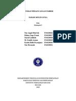 Draft Laporan Perancangan Pabrik