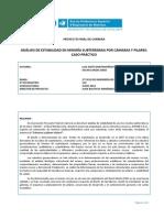 Análisis de Estabilidad en Minería Subterránea Por Cámaras y Pilares