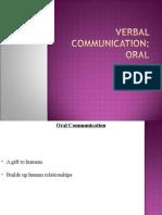 Lec 3 Oral Communication