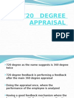 720 Degree Appraisal