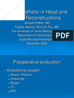 Oral Prosthetic in Head and Neck Reconstructions (Presentation)
