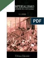 El Imperialismo, Fase Superior - Vladimir Ilich Lenin