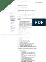 CPE301_GAE Qualification Exam - Cloud Platform Training