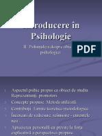 Introducere în Psihologie 2