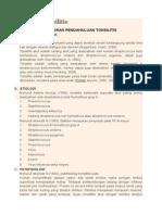 Laporan Tonsilitis
