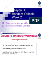 Chapter 2 Random Variable 1_2012