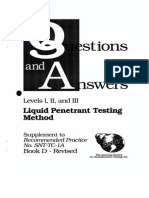 PT ASNT Levels I II III Questions Answers 1