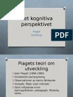 Det Kognitiva Perspektivet Piaget