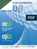 Relatorio de Atividades NicBr (Segurança da Informação)