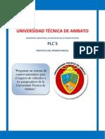 Proyecto de PLCs