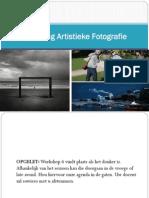 Opleiding Artistieke Fotografie