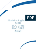 Manual Ingenico AQ50 5100 5100GPRS 7910GPRS